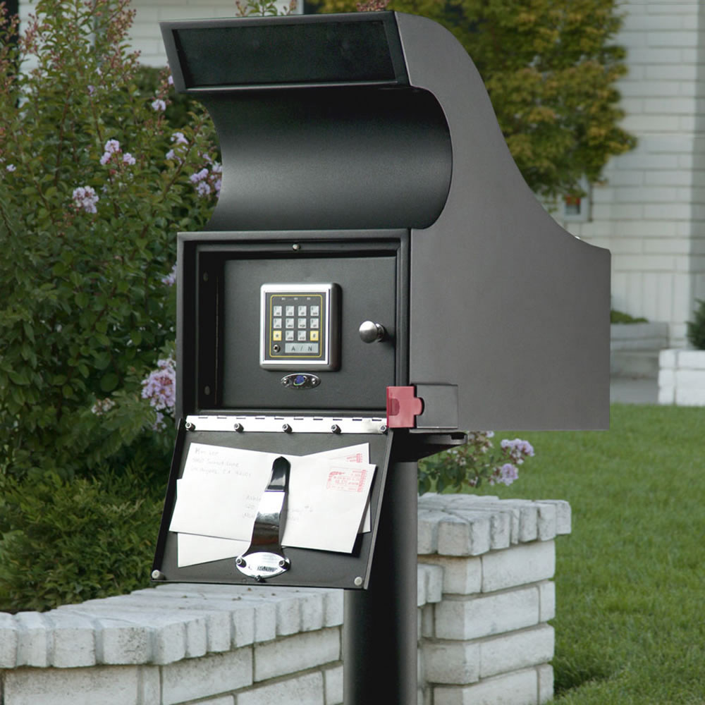 Secure Mail Vault Keyless Locking Mailbox