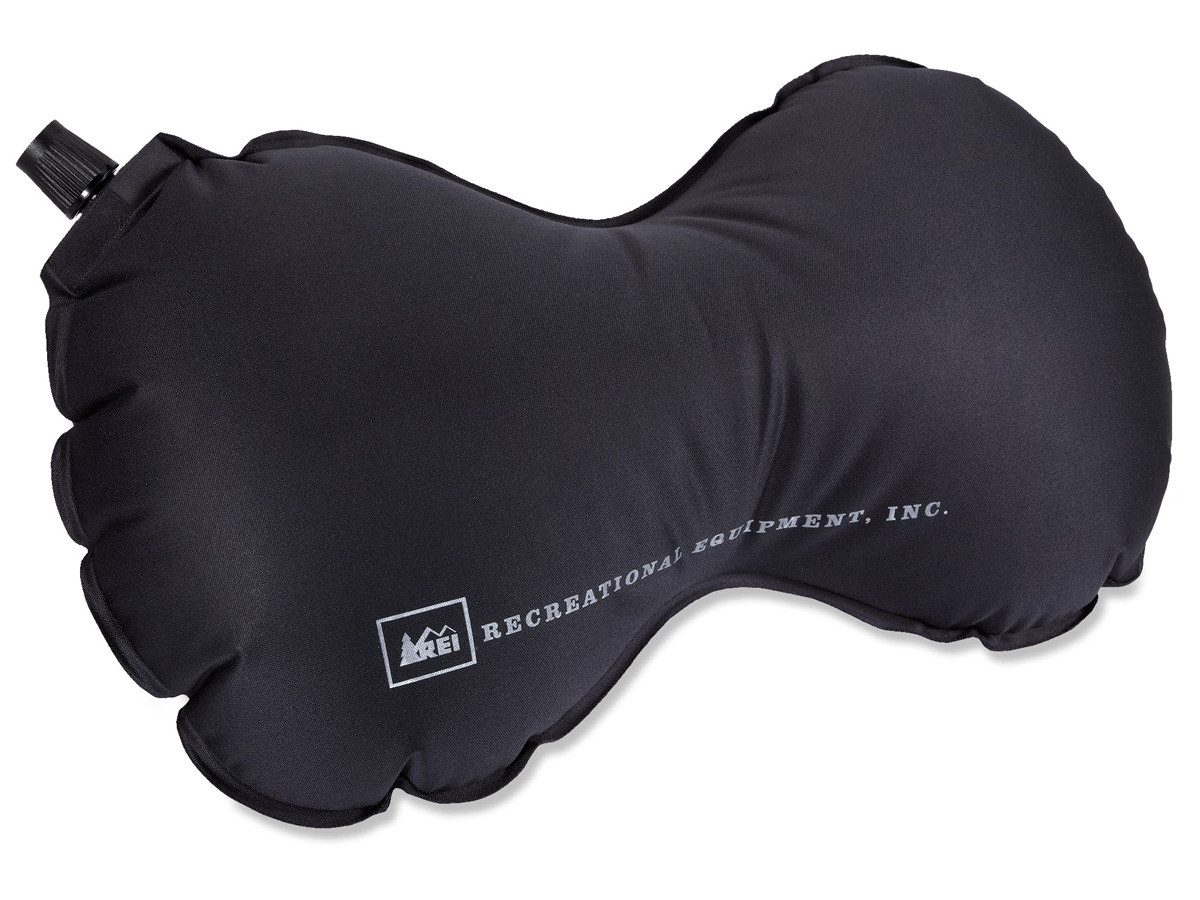 Self-Inflating Travel Pillow - The Green Head