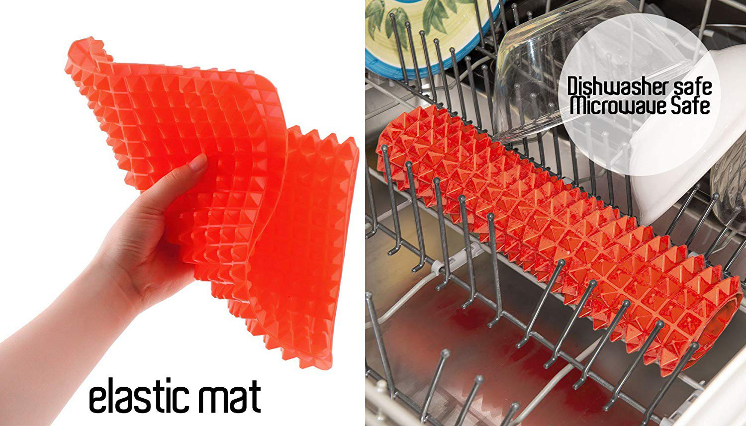 Silicone Pyramid Baking Mat Cooling Rack Trivet Candy Mold Dog Treat Maker