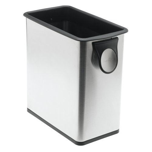 Simplehuman grocery bag trash can the green head for Simplehuman trash can
