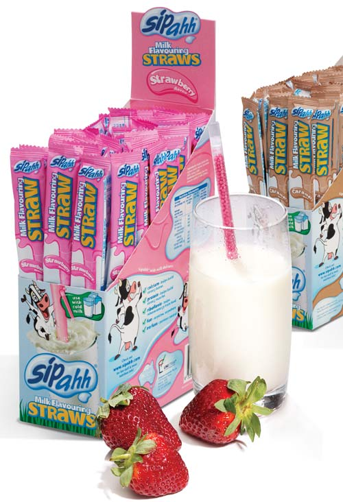 Sipahh Milk Flavoring Straws Chocolate