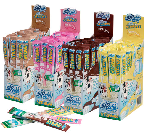 Chocolate Milk Straws