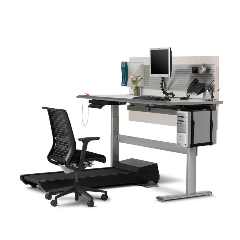 Беговая дорожка-компьютерный стол