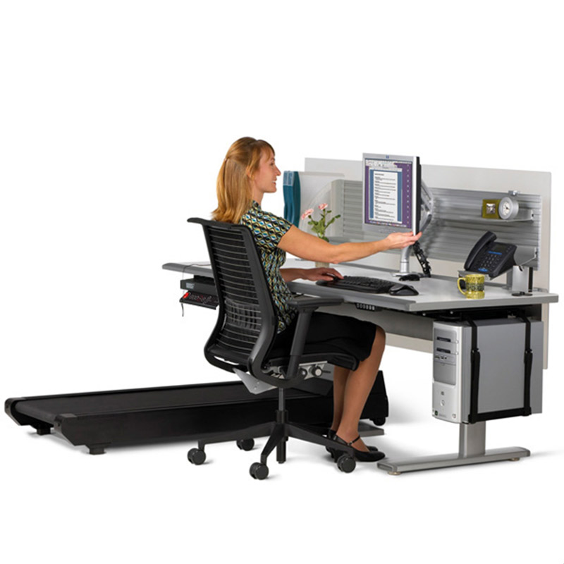 Sit To Walkstation Treadmill Desk Sit Stand Or Walk