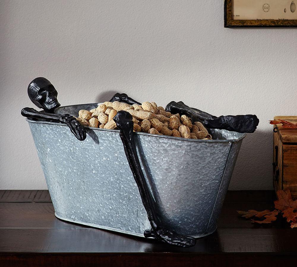 skeleton bath party bucket. Black Bedroom Furniture Sets. Home Design Ideas