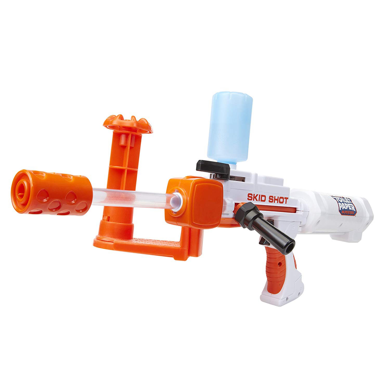 Skid Shot Toilet Paper Blaster