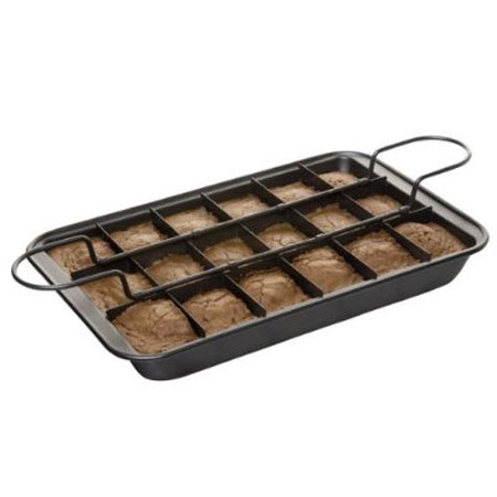 Slice Solutions Brownie Pan The Green Head