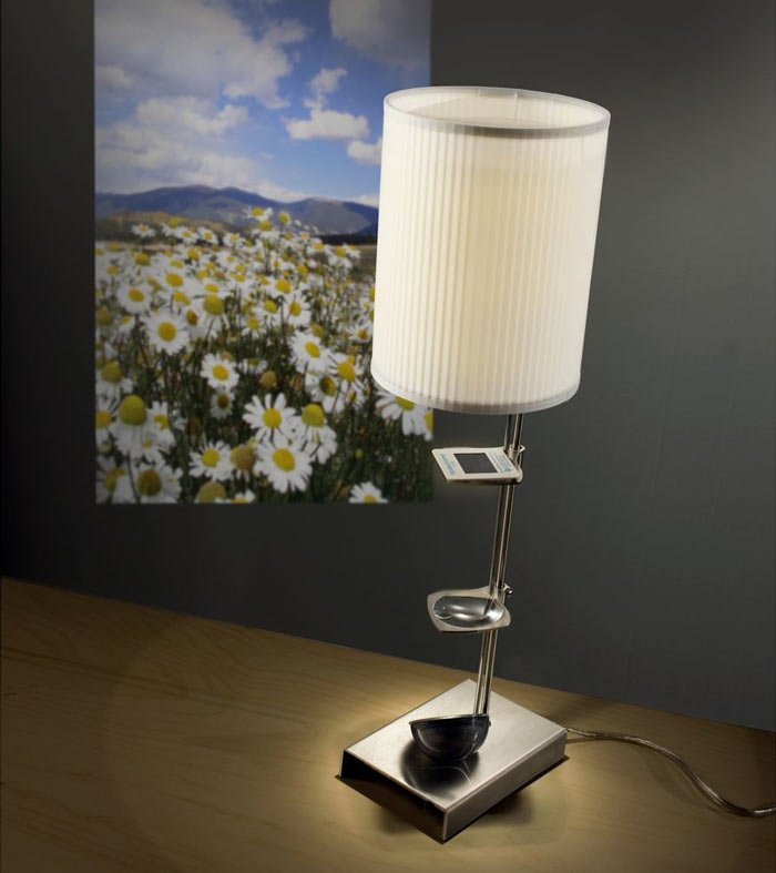 Slide Projector Table Lamp The Green Head