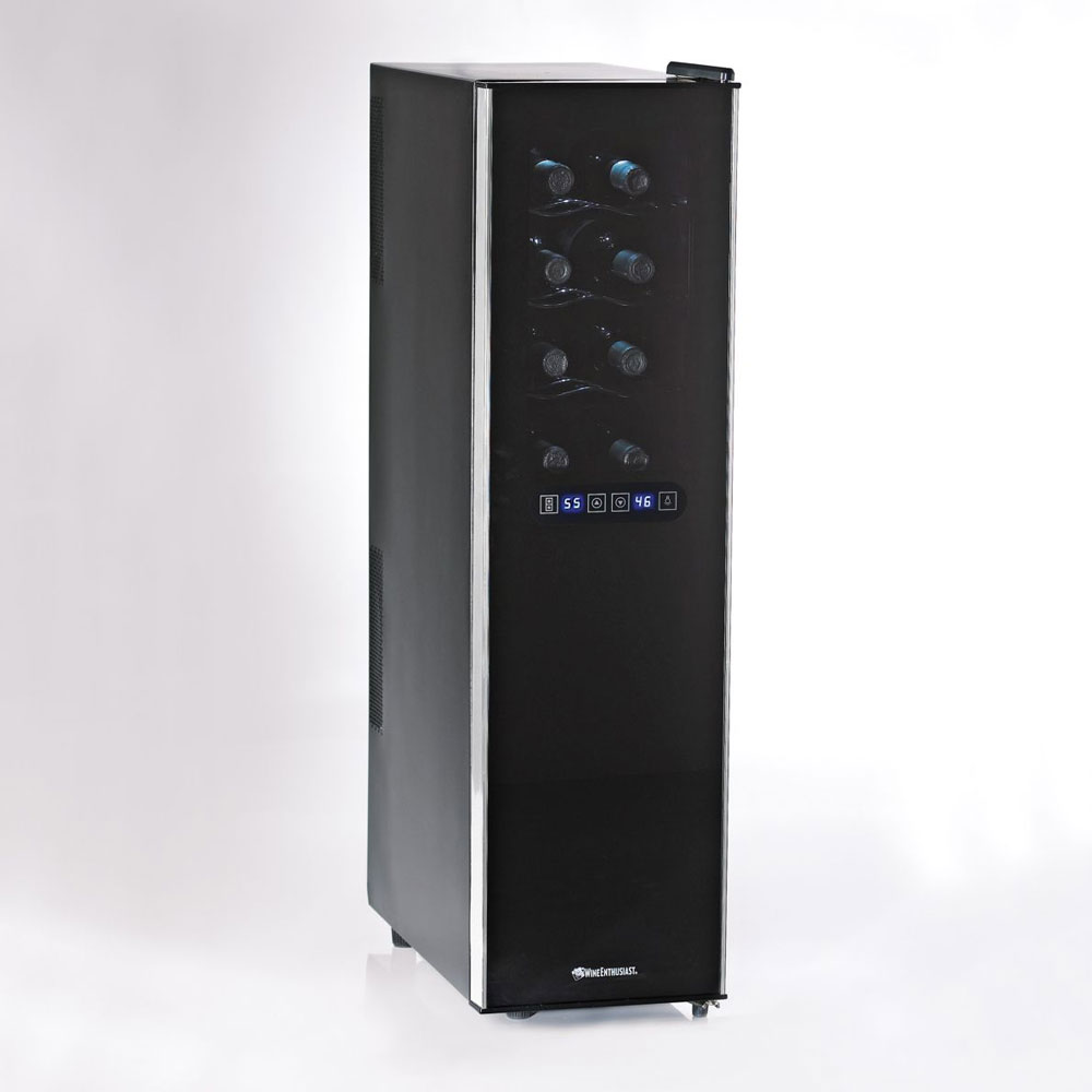 slimline touchscreen wine refrigerator the green head