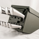 Ammo Box Knife Block