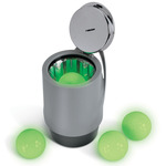 Glow-in-the-Dark Golf Balls and High-Intensity Light Charger