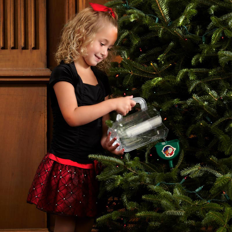 Christmas Tree Watering System.Smart Treekeeper Christmas Tree Watering Device