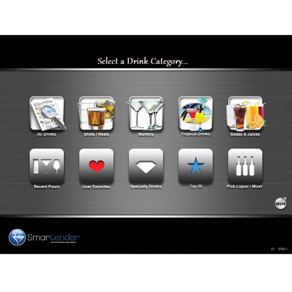 Smartender Automatic Touchscreen Bartender The Green Head