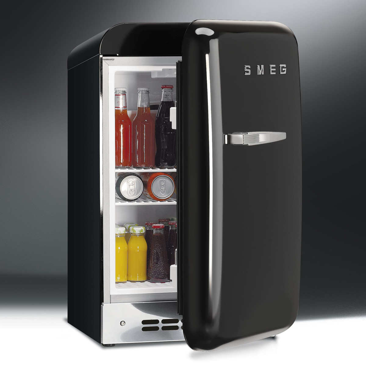 smeg 39 50s style mini refrigerator. Black Bedroom Furniture Sets. Home Design Ideas