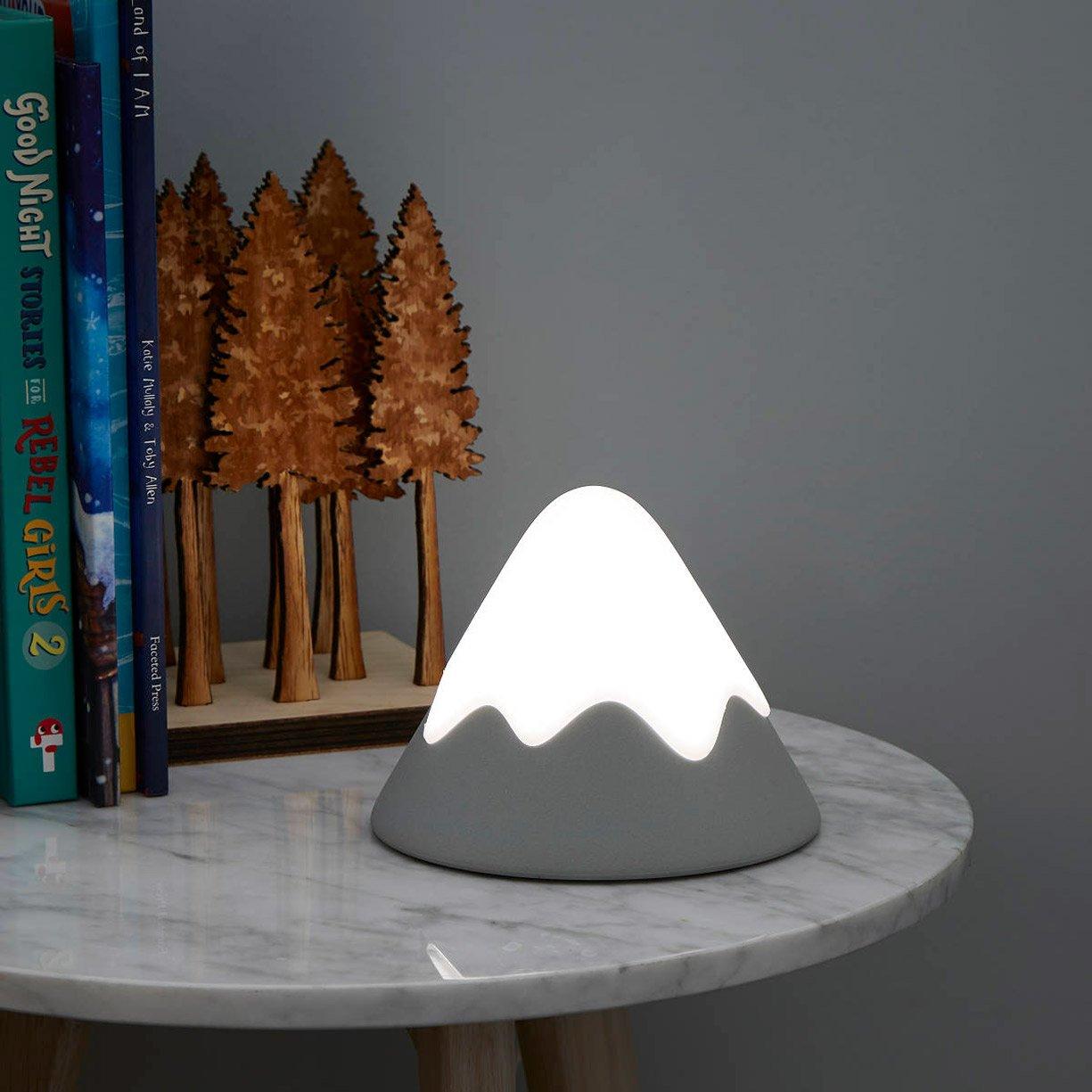 Snowy Mountain Night Light