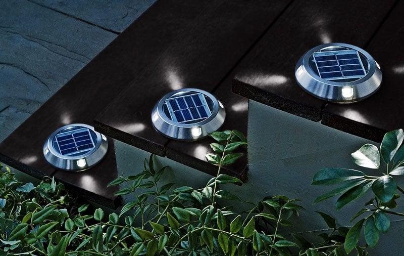 Solar deck lights the green head solar deck lights aloadofball Choice Image