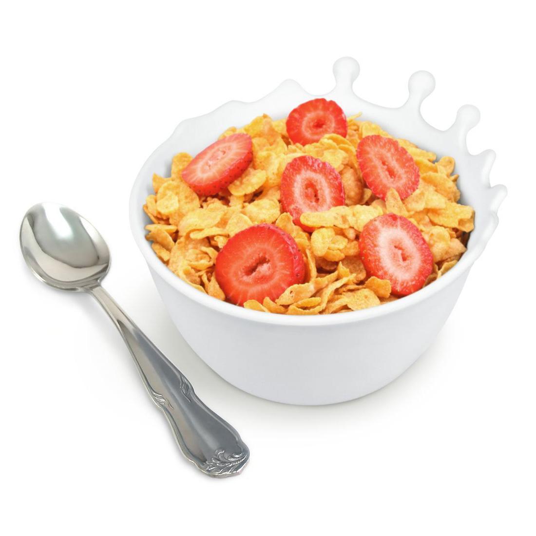 Spilt Milk Soft Flexible And Unbreakable Cereal Bowl