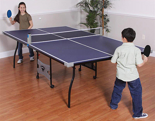 Sportcraft Anywhere - Portable Ping Pong Set - The Green Head