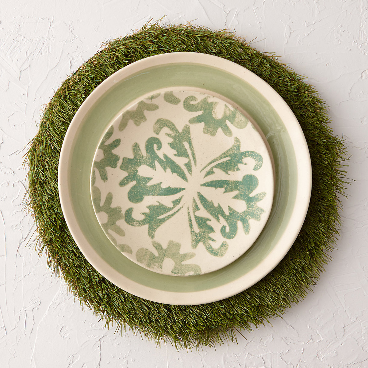 Spring Lawn Grass Placemats