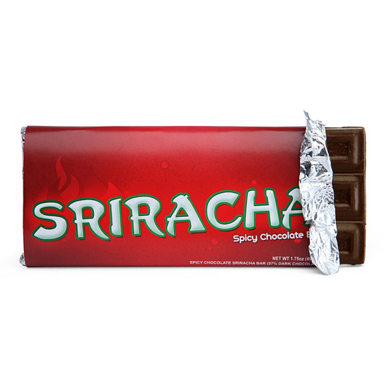 Sriracha Spicy Chocolate Bar Thegreenhead Com
