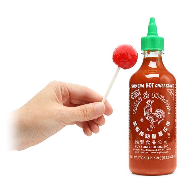 Sriracha Hot Chili Sauce Lollipops The Green Head