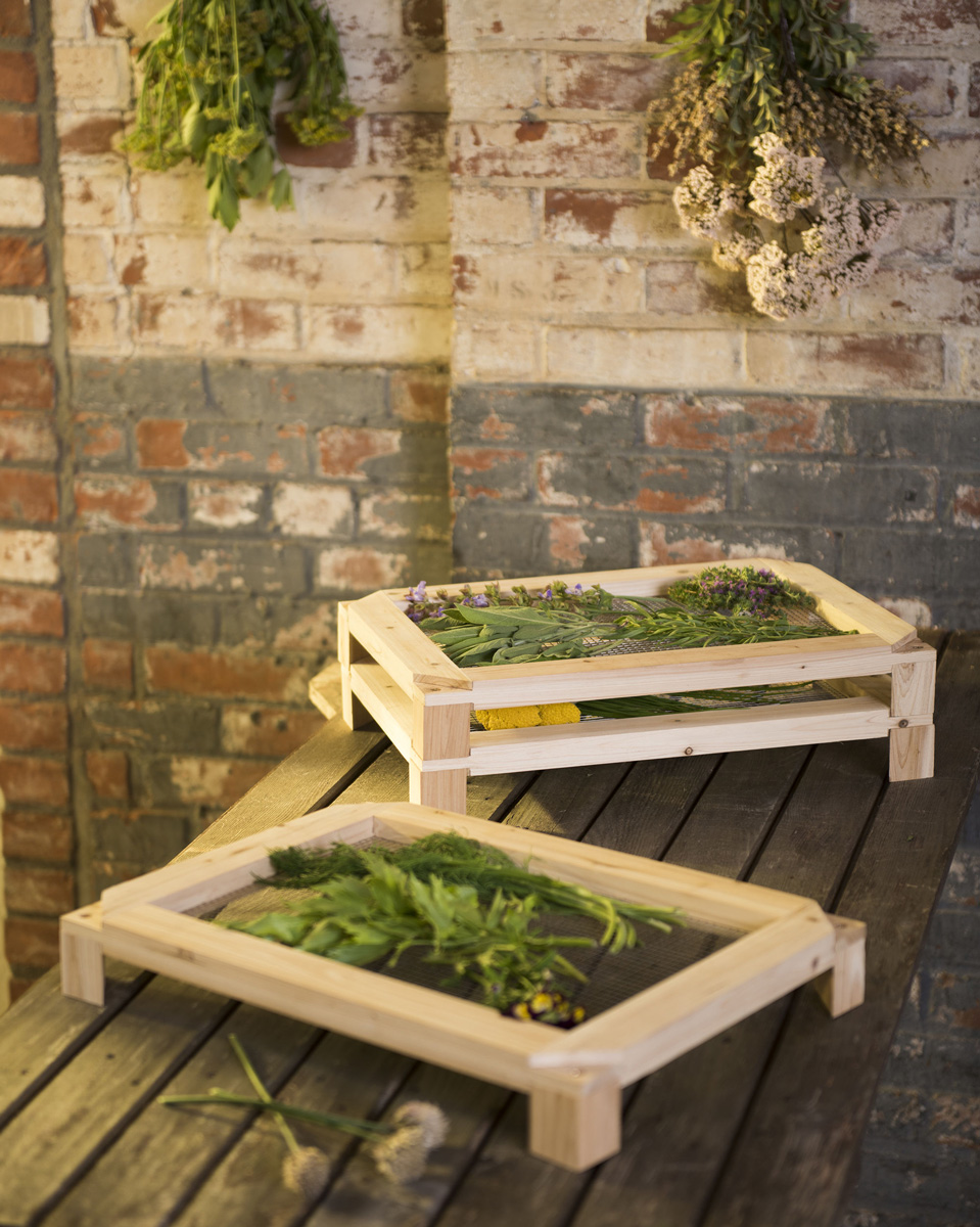 Stackable Herb And Flower Drying Racks The Green Head
