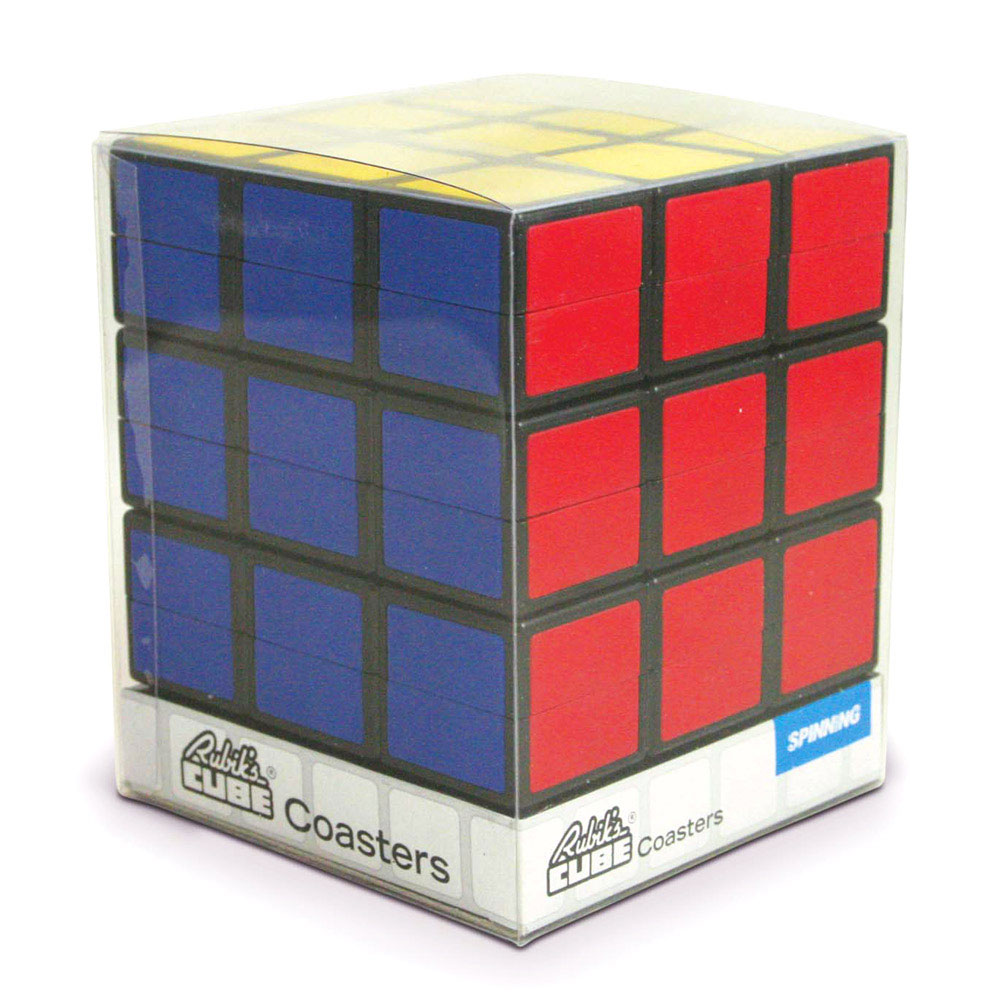 Stackable Rubik S Cube Coasters