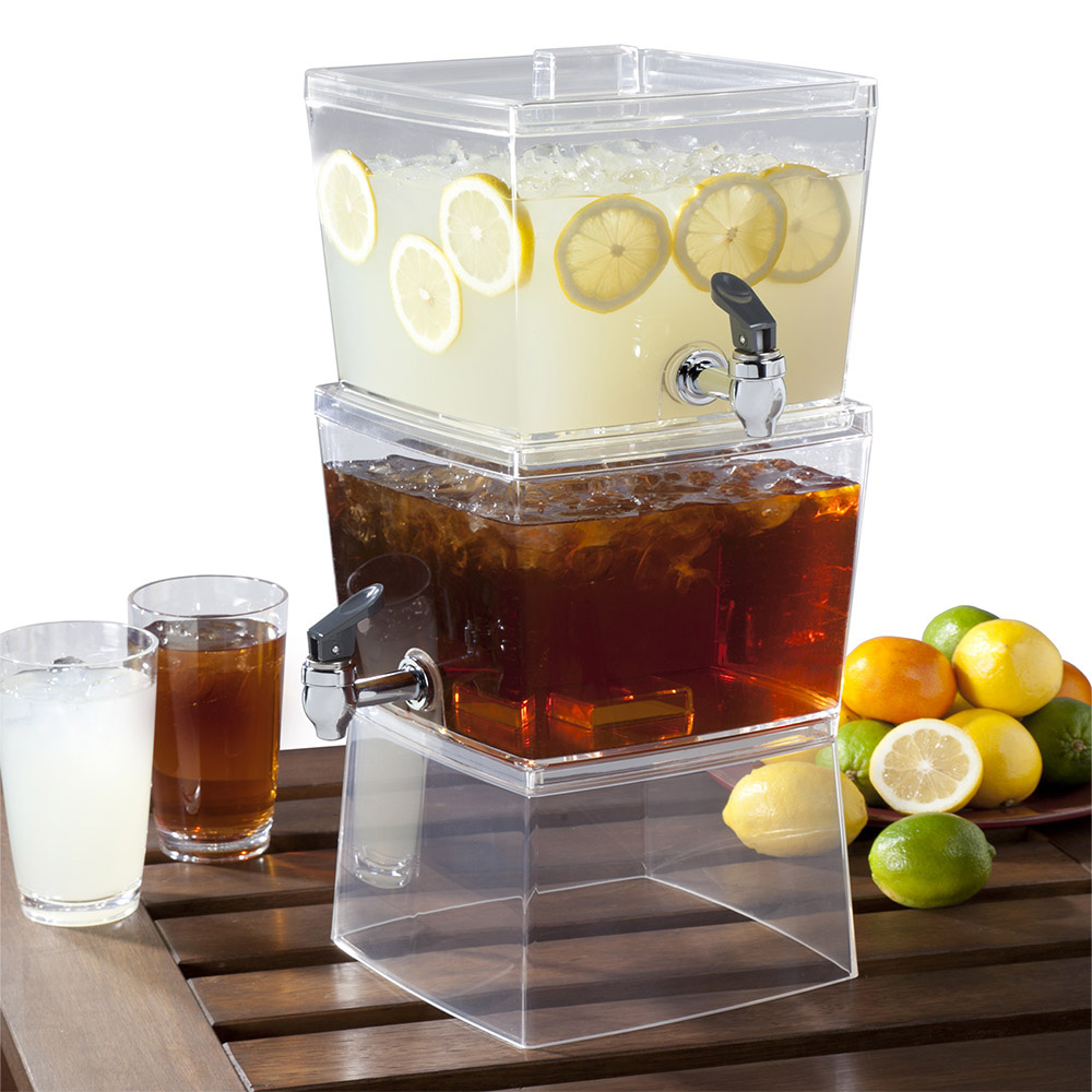 stacking beverage dispenser - the green head