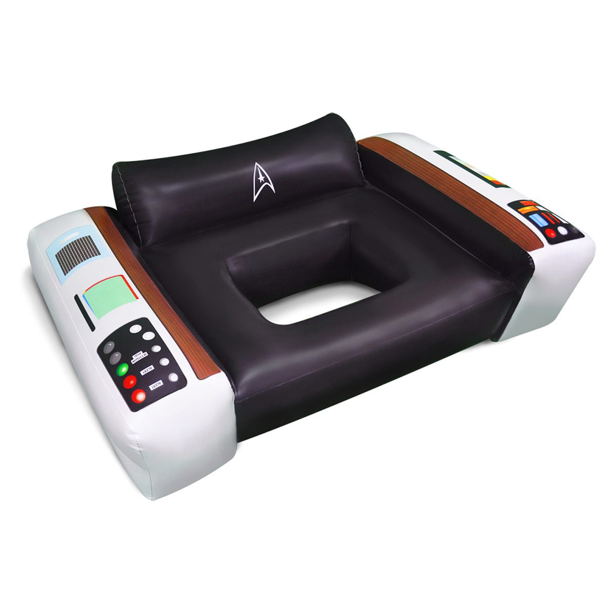 Captains chair star trek - Star Trek Captain S Chair Pool Float