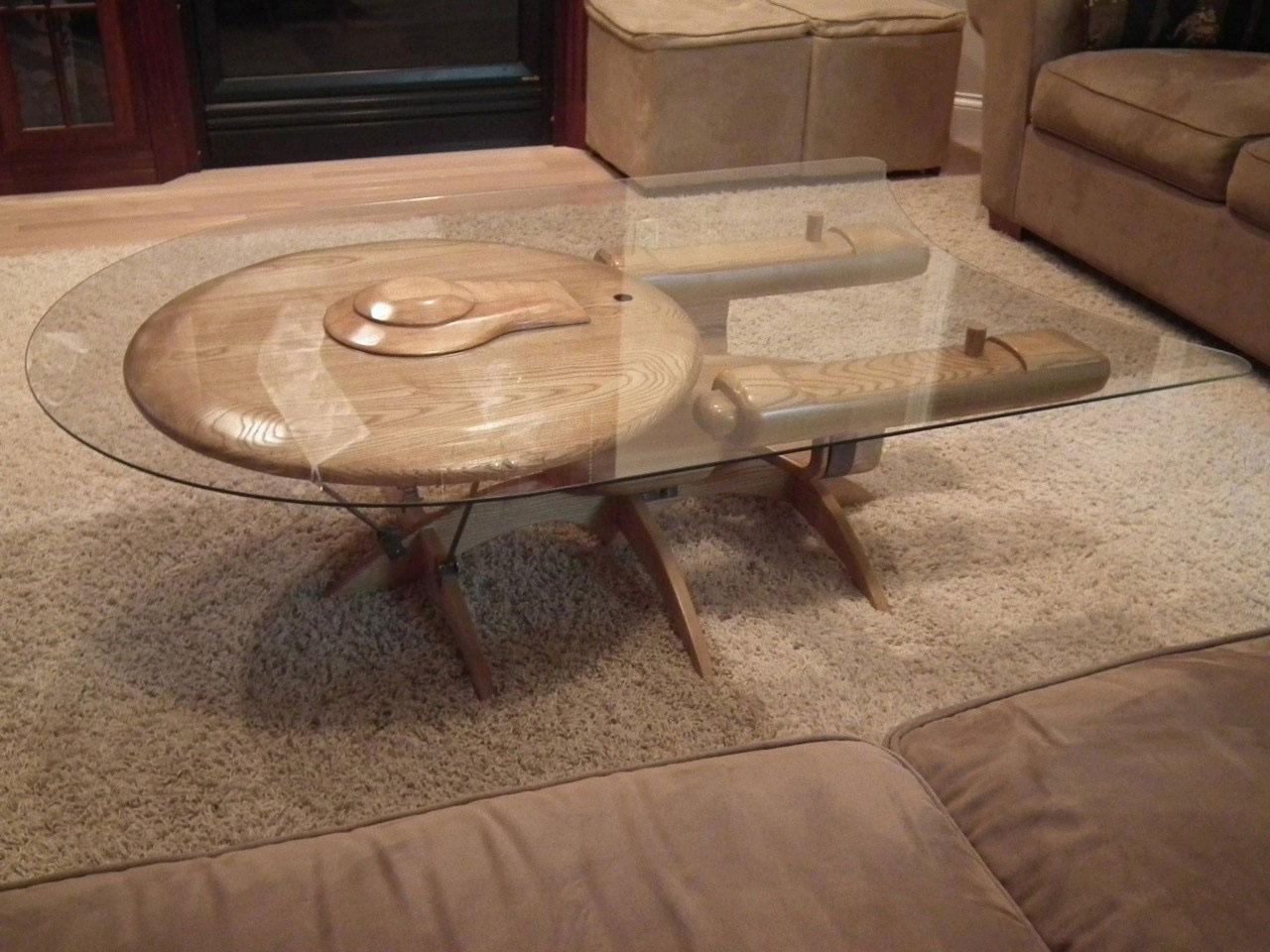 Star Trek USS Enterprise NCC 1701 C Coffee Table