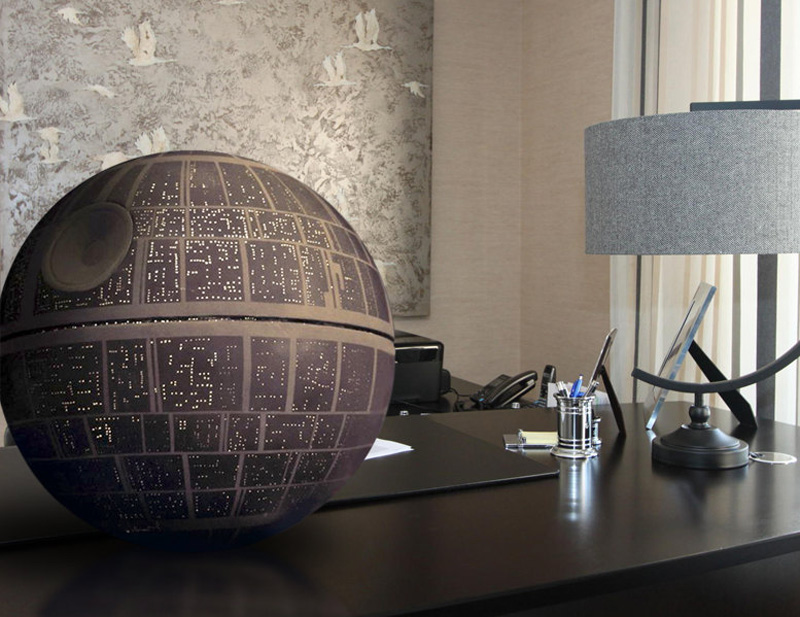 star wars death star handmade prop replica the green head. Black Bedroom Furniture Sets. Home Design Ideas