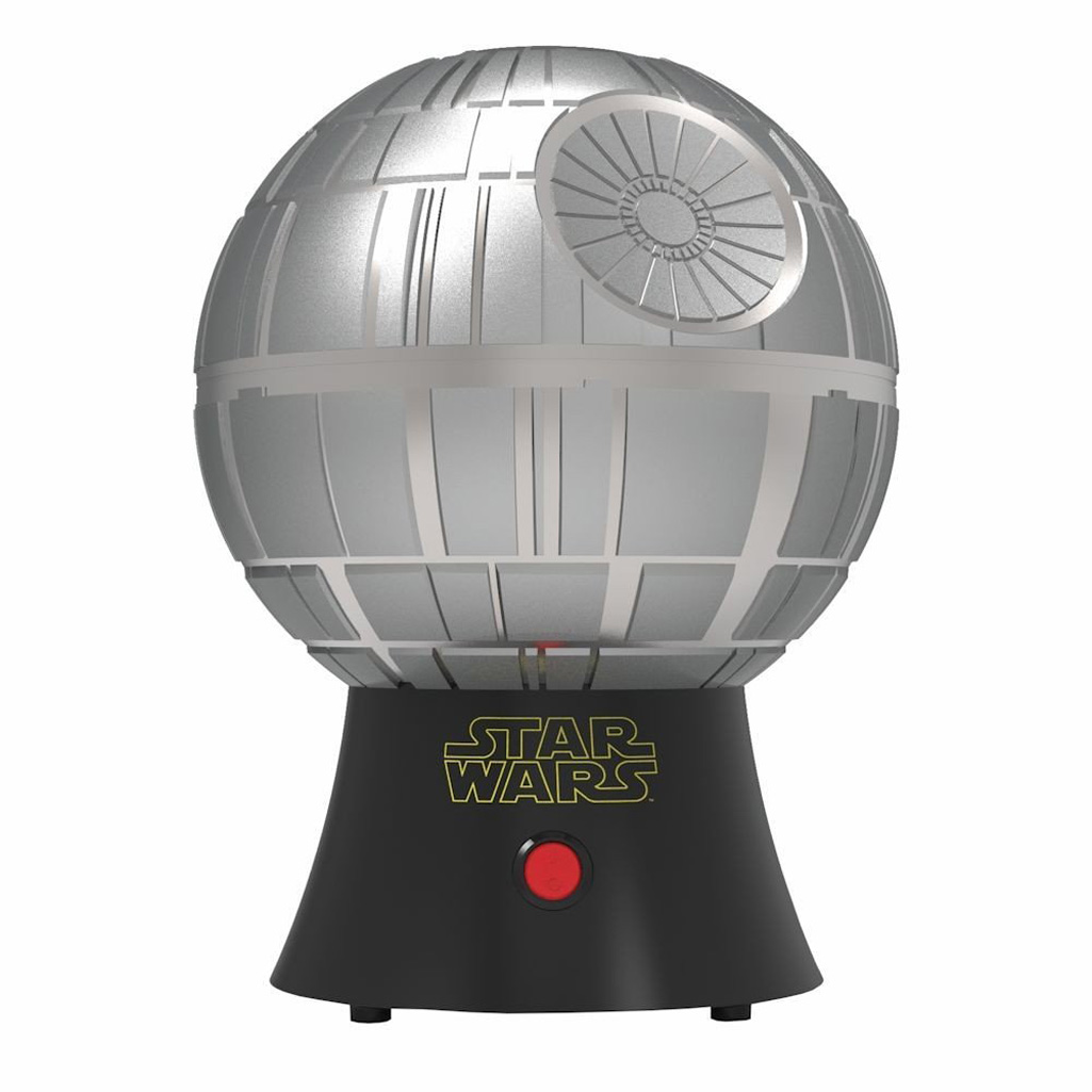 star wars death star hot air popcorn maker the green head. Black Bedroom Furniture Sets. Home Design Ideas