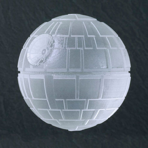 Star Wars Death Star Silicone Ice Cube Tray The Green Head