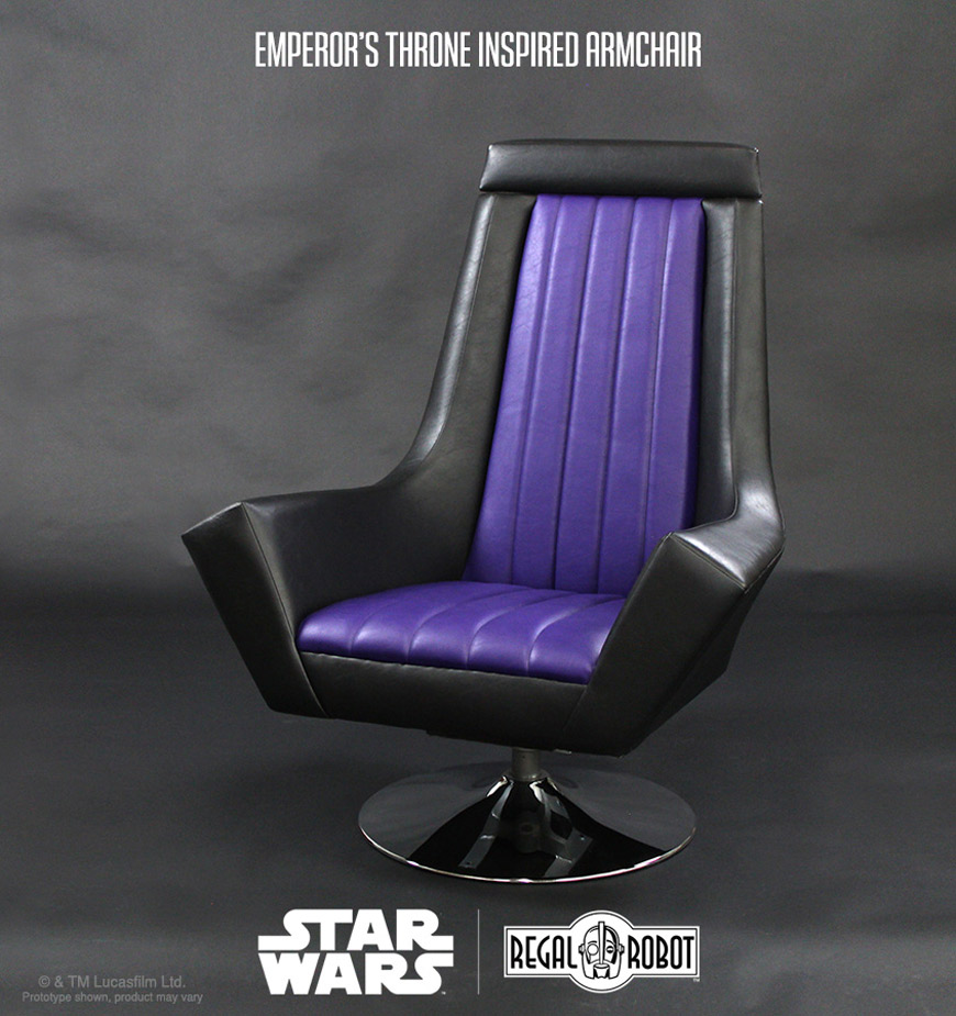 Star Wars Return Of The Jedi Emperor Throne Arm Chair