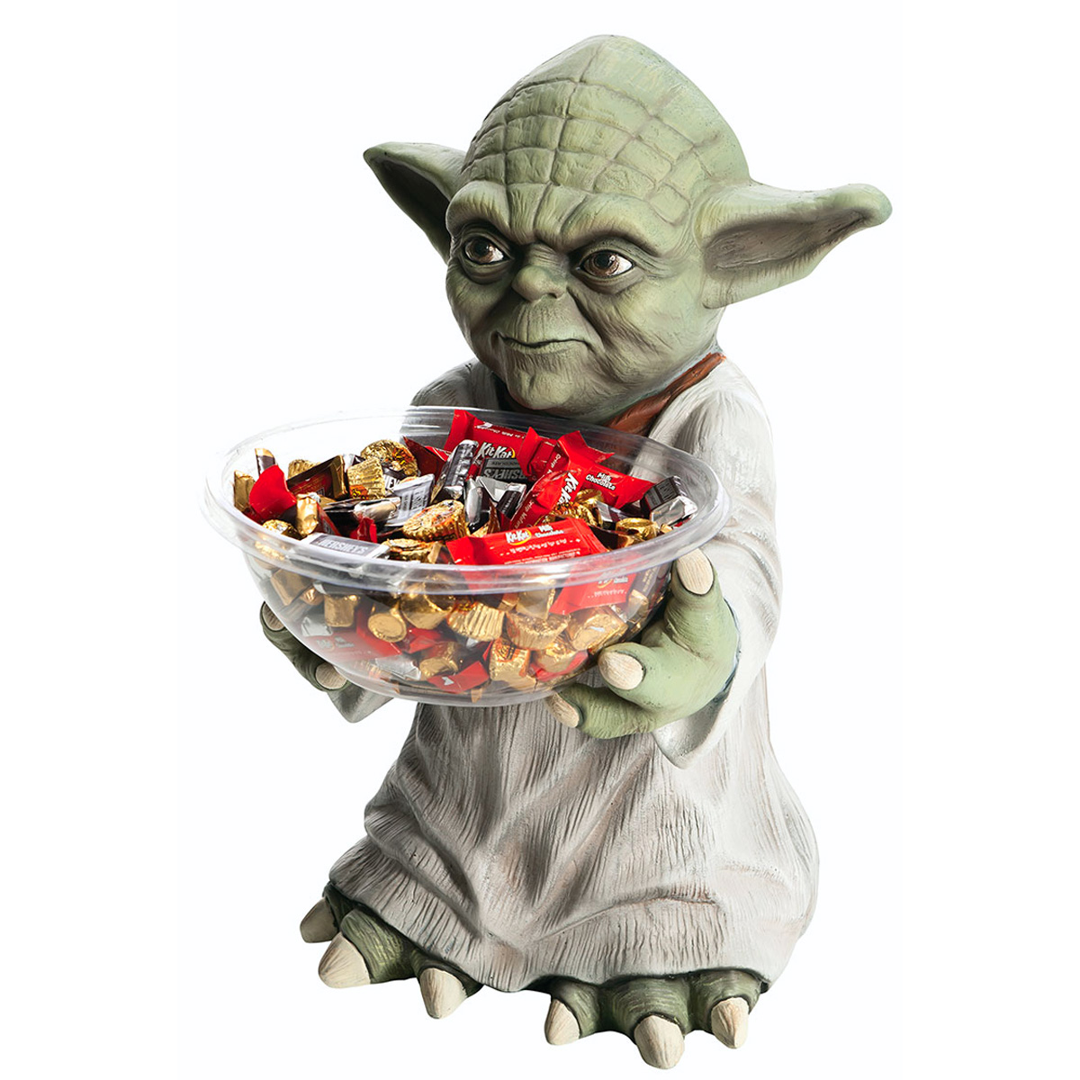 star wars yoda candy bowl holder the green head. Black Bedroom Furniture Sets. Home Design Ideas