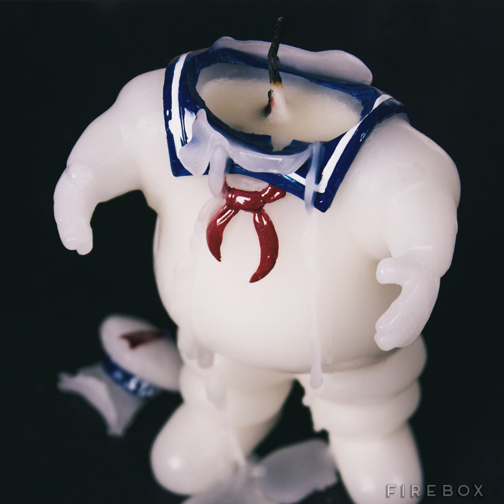 Stay Puft Marshmallow Man Candle The Green Head