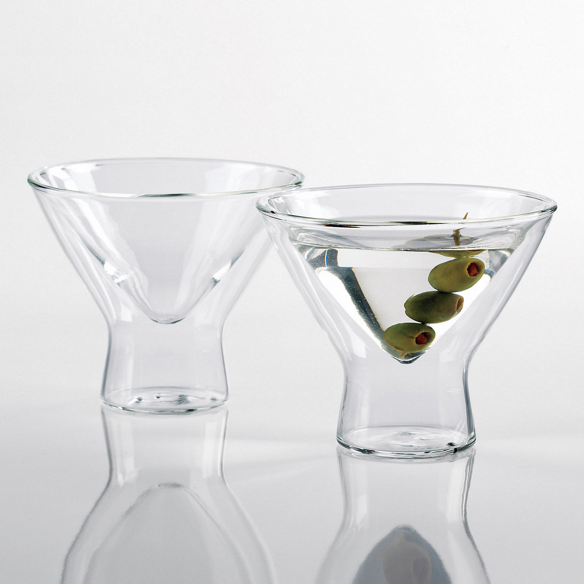 Steady Temp Martini Glasses The Green Head