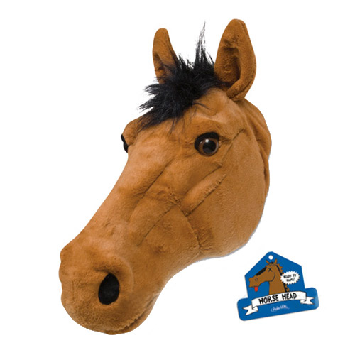 Stuffed Horse Head Pillow