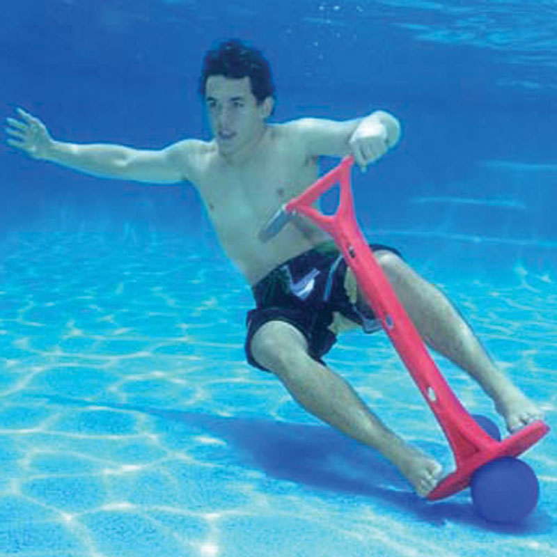 Sub Jumpa World 39 S First Underwater Pogo Stick The Green Head