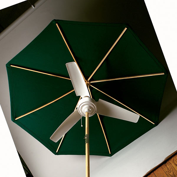 Summer Blast Umbrella Fan The Green Head