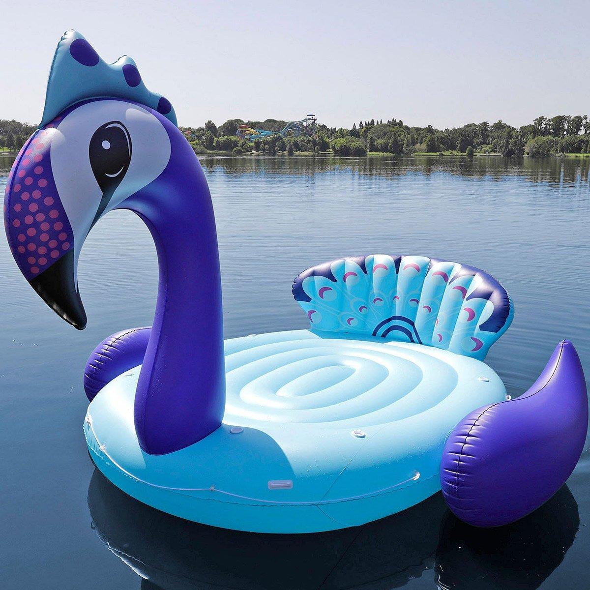 Massive Inflatable Party Bird Island