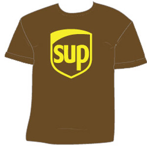 SUP - UPS Parody T-Shirt - The Green Head