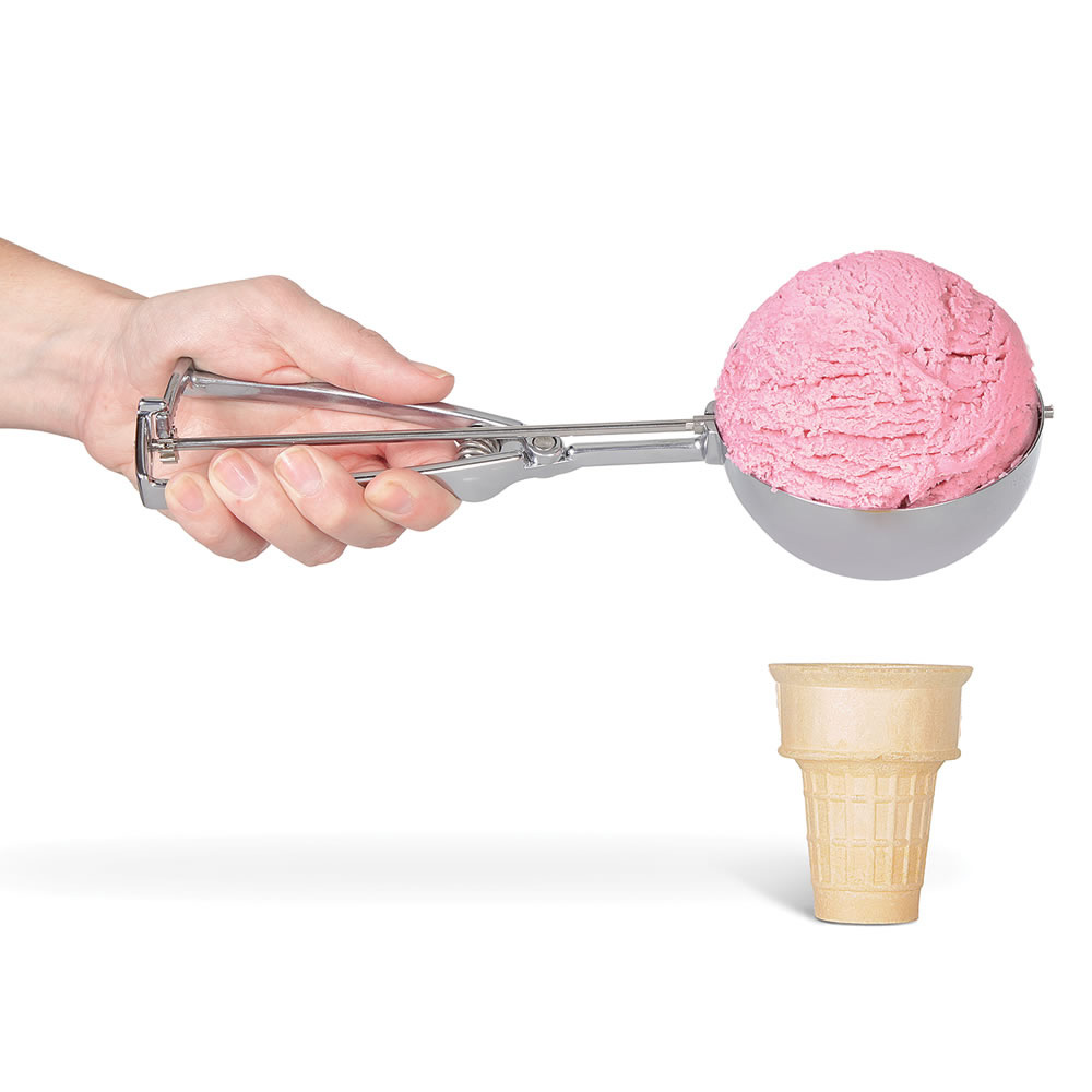 Scoop Ice Cream : Super sized ice cream scooper the green head