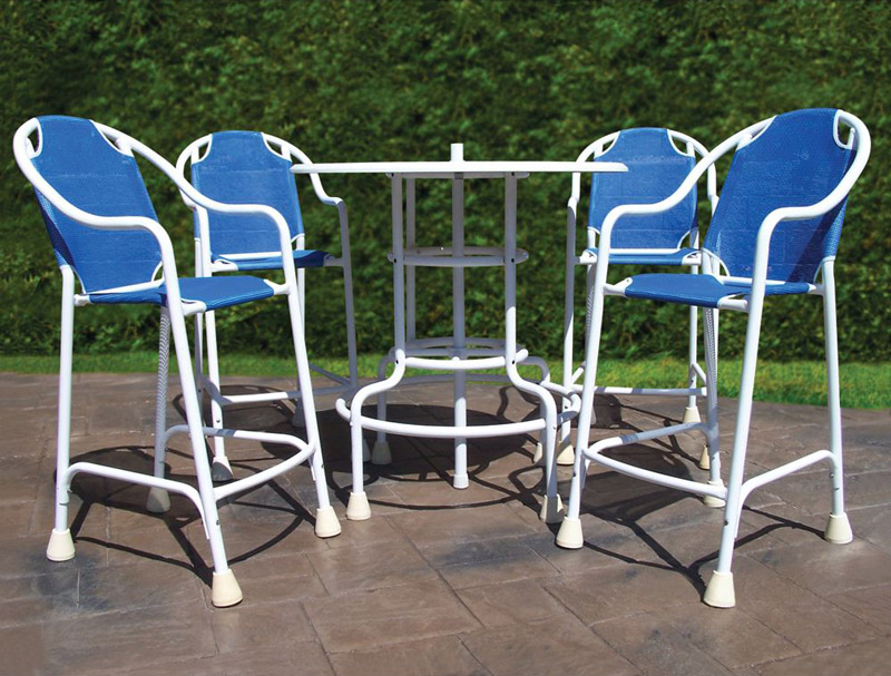 Awesome Swimming Pool Patio Table Set