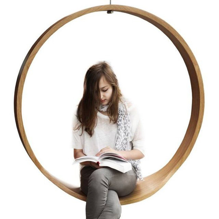 SWING - Wooden Circle Chair