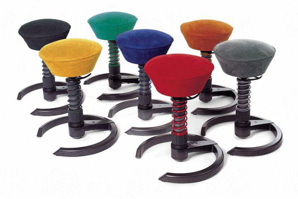 Swopper active sitting chair the green head for Sitting chairs