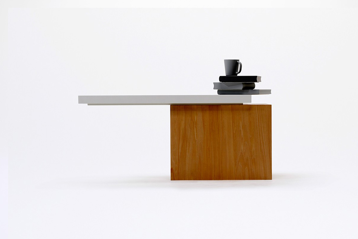 Table 01 Stable Only When Objects Are Placed On It