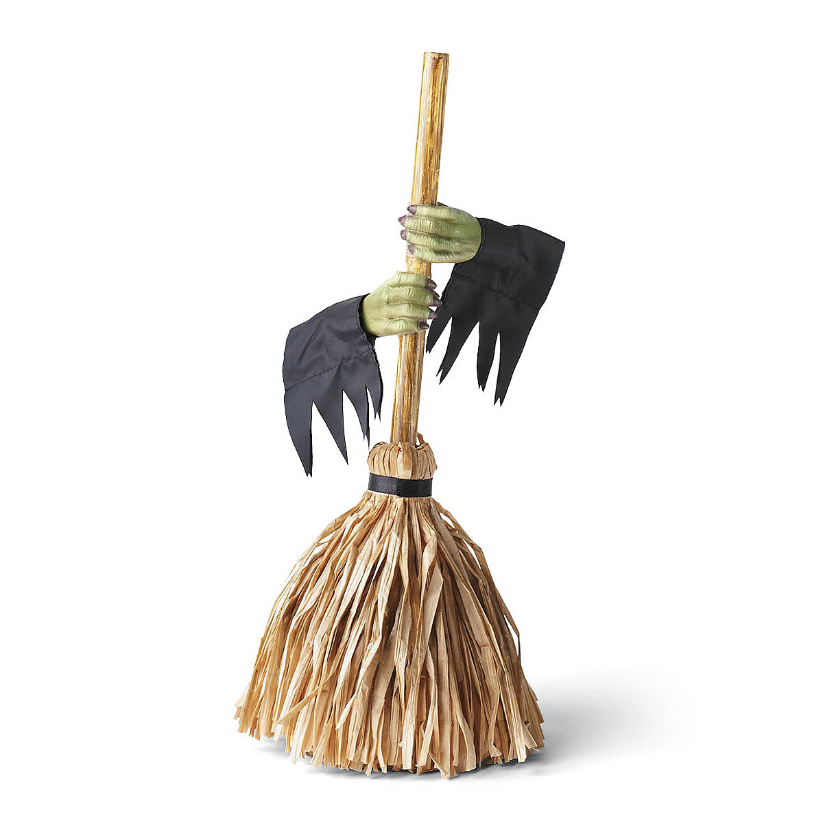 tabletop motorized dancing witchs broom