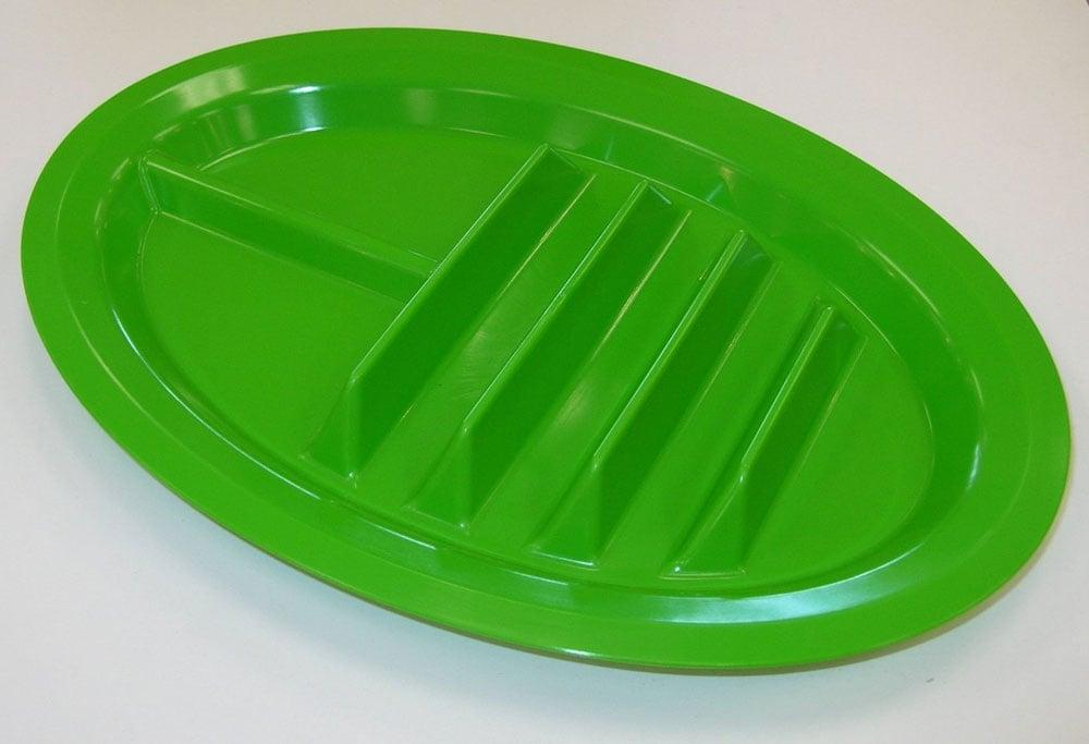 Taco Plates & Taco Plates - The Green Head