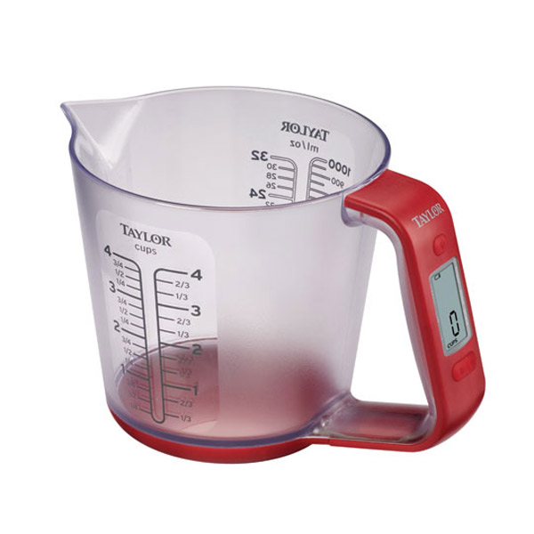 Ml Device Measuring Cups At Walmart : Taylor digital measuring cup and scale the green head